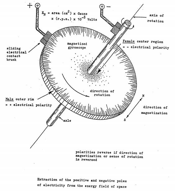 Faraday Motor by DePalma